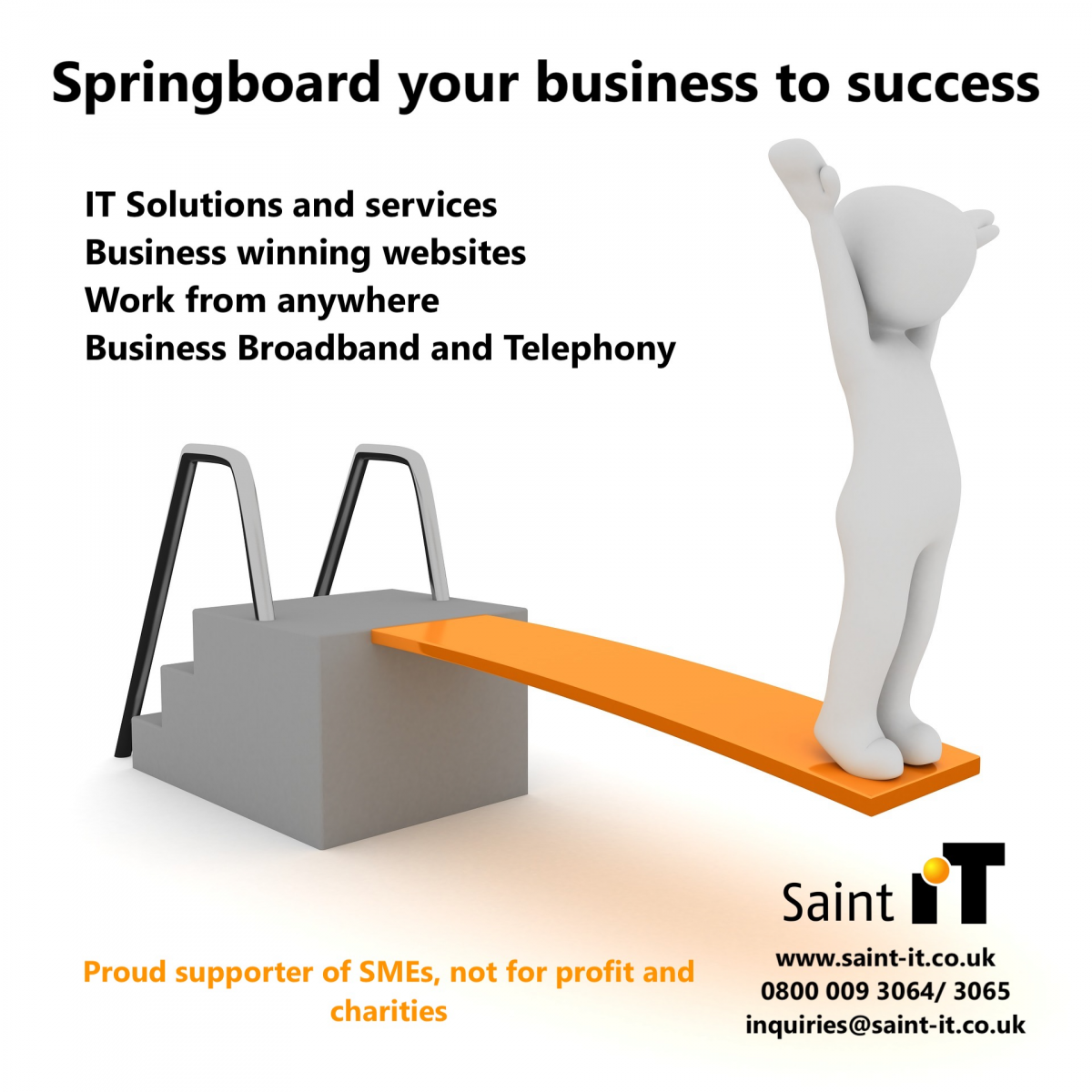 Ready to discuss improving your business IT?