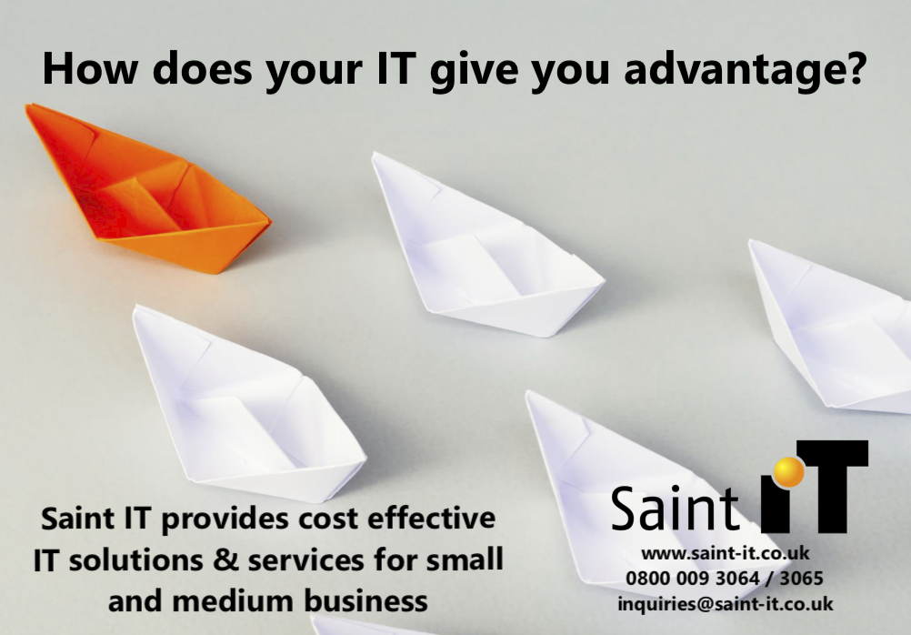 How does IT give your business an advantage